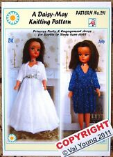 1 poupées knitting pattern 291 par daisy-mayto fit sindy et barbie