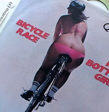"""SEXY COVER QUEEN 1978 BICYCLE 7"""" VINYL FAT BOTTOMED GIRLS FIXI TEN SPEED NM RARE"""