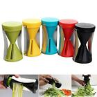Spiral Slicer Cutter Kitchen Tool Vegetable Fruit Spiralizer Twister Peeler KJ