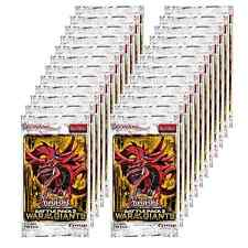36x YuGiOh ENGLISH 1st ed. Battle Pack War of the Giants Booster Packs Lot = Box