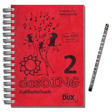 Das Ding 2 Kultliederbuch - mit PianoBleistift - DUX77 - 4031658000773