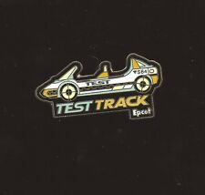 DISNEY TEST TRACK ATTRACTION RIDE CAR PIN