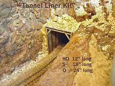 TIMBER TUNNEL LINER O On3 On30 Model Railroad Structure Unpainted Wood Kit GMTLO