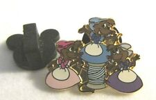 Disney Mice House Helpers From Cinderella Frame Set WDW Rare LE 500 Pin