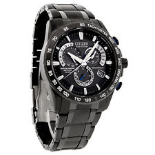 New Citizen Mens Atomic Radio Controlled Eco-Drive Watch AT4007-54E