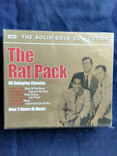 The Rat pack, Solid Gold Collection,  2 cd Box set  2005 Cds