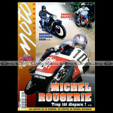 MOTO LEGENDE N°77 MICHEL ROUGERIE BROUGHT SS SUPERIOR BUELL S1 BMW R100 BSA 500
