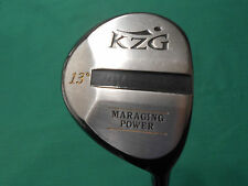 KZG MARAGING POWER 13* FAIRWAY WOOD - GRAFALLOY S FLEX SHAFT- NEEDS GRIP - NICE!