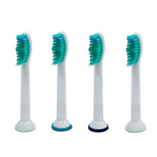 4 x Fits Philips Sonicare HX6014/26 Pro Results Toothbrush Heads Standard