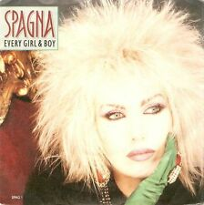 "SPAGNA Every Girl And Boy 7"" Single Vinyl Record 45rpm CBS 1988 EX"