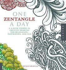 One Zentangle a Day : A 6-Week Course in Creative Drawing - I send worldwide