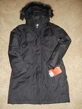 NWT WOMEN'S SMALL BLACK NORTH FACE ARCTIC DOWN PARKA COAT 550 DOWN INSULATED!