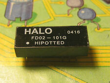 HALO FD02-101G Transformers Audio & Signal 100Ohm  HIPOTTED DIP   1pcs