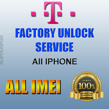 T-mobile USA Factory Unlock Service IPhone 5s SE 6 6+ 6s 6s+ Blacklist/Blocked
