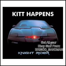 """Fridge Fun Refrigerator Magnet DAVID HASSELHOFF KNIGHT RIDER """"KITT HAPPENS"""""""