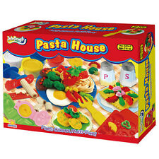 Play Dough Mold Pasta House Set Soft Clay Plasticine Foods Fun Mode Kids Toy New