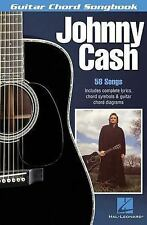 Johnny Cash : 58 Songs Includes Complete Lyrics, Chord Symbols and Guitar...