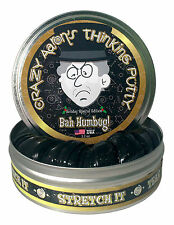 Crazy Aaron's Thinking Putty-Bah Humbug-incluye Coleccionable Moneda, 10cm Estaño