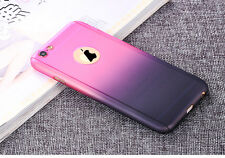 Full Body Protector Tempered Glass Screen Phone Case Cover For iPhone 5s 6s Plus