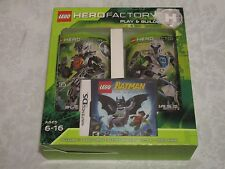 Lego Hero Factory Nintendo DS Batman Video Game Bundle