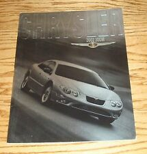 Original 2002 Chrysler 300M Deluxe Sales Brochure 02