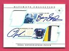 Barry Sanders LaDainian Tomlinson 2004 Ultimate Collection Dual Auto Patches 4/5