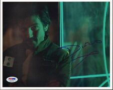 "DIEGO LUNA Signed STAR WARS ROGUE ONE ""Cpt. Andor"" 8x10 Photo PSA/DNA #AB64358"