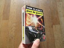 POCHE 7575 TOM CLANCY jeux de guerre 1992