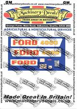 FORD 3000 4000 PREFORCE DECALS