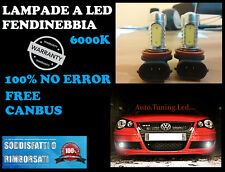 LAMPADE FENDINEBBIA HB4 LED CREE RESISTENZA CANBUS 6000K VW POLO 9N3 2005-2010 -