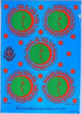FAMILY DOG FD 46 Concert Poster: Country Joe, Sparrow, Kaleidoscope. Moscoso art