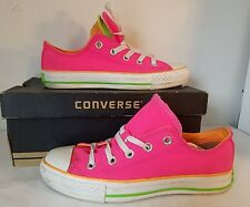 CONVERSE WOMEN CT DBL TNG OX ATHLETIC STYLE FASHION SHOES PINK/ORANGE SZ 6