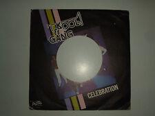 Kool & The Gang – Celebration / Morning Star-Copertina Forata Per Disco Vinile