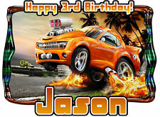 Hot Wheels Birthday Party t Shirt Iron On Transfer Personalized Decal