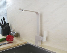 SQUAR STYLE BEIGE MONOBLOC SINGLE LEVER KITCHEN MIXER TAP/TAPS C3