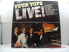 "THE FOUR TOPS -(LP)- LIVE! - FEATURING  ""ASK THE LONELY, REACH OUT""-MOTOWN- 1966"