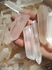 500g( 1.1 IB)  Medium/Large Clear Quartz Crystals Points Lot of Natural