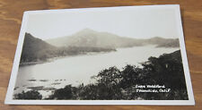 c1935 Real Photo Postcard//  LAKE WOHLFORD, ESCONDIDO, CA/CALIFORNIA  //B