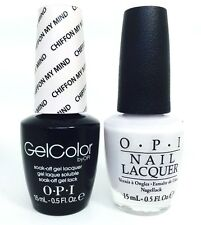 OPI Soak-Off GelColor Gel Polish + Nail polish Chiffon My Mind T63 14.8ml 15 mL