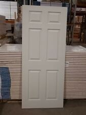 FD30 FIRE DOOR SLIM LINE 35mm THICK FINISHED IN WHITE 1981mm X 838mm X 35mm L@@K
