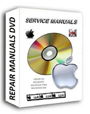 APPLE MAC LAPTOP SERVICE REPAIR MANUALS CD/ DVD FAULTY MACBOOK PRO AIR IBOOK
