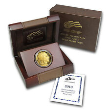 2010-W 1 oz Proof Gold Buffalo Coin - with Box and Certificate