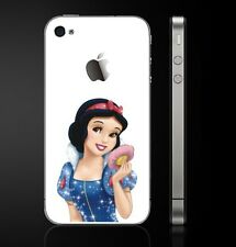 Snow White Back Decal Vinyl Skin Cover Sticker for Iphone 5/5s/5c