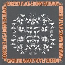 ROBERTA FLACK & DONNY HATHAWAY ORIGINAL CD WHERE IS THE LOVE FOR ALL WE KNOW