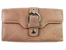 LADIES WOMENS BUCKLE DETAIL WALLET COIN POUCH PURSE CREDIT CARD HOLDER CLUTCH