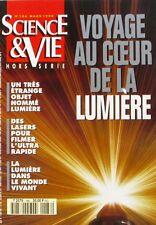 Science et vie n°186 HS  - 1994 - La Lumière - Les lasers - Le Vide -