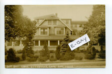 Osterville (Barnstable) MA Mass RPPC real photo East Bay Lodge 1924 to 1949