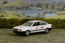 R&L Diecast: Schabak Audi 80 1992 Olmpics Car, Boxed, Gold Chassis