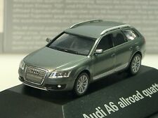 Herpa Audi A6 allrad quattro grau metalic - PC dealer model - 379567 - 1/87