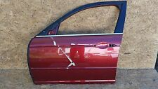 OEM 2004-07 JAGUAR XJ8 RED BURGUNDY DOOR FRONT DRIVER LH LEFT DRIVERS SIDE